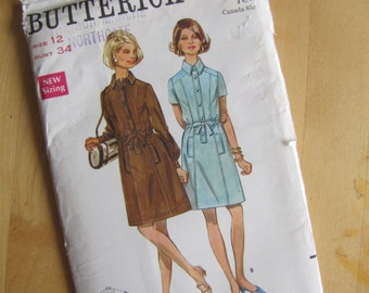 Uncut Butterick 5316 - Misses One Piece Dress - Size 12