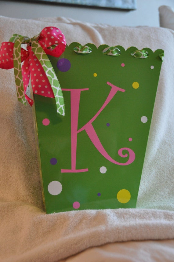Items Similar To Girl 39 S Room Decor Personalized Trash Can