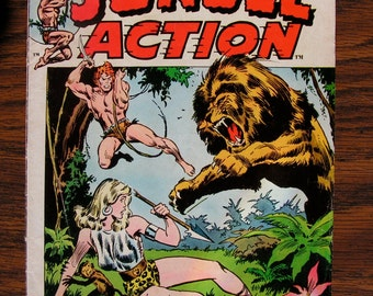 Two sets of Marvel Comics - Jungle Action 1 and 2 - Skull the Slayer 1 and 2