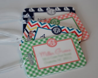 Personalized Luggage Tag - Can be Monogram Monogrammed