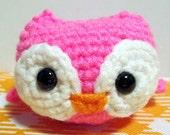 Owlie (neon pink)