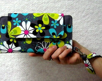 iPhone 6 Wallet Clutch Case Wristlet Accessory,Cell Phone Wallet; Smart Phone Wristlet Wallet