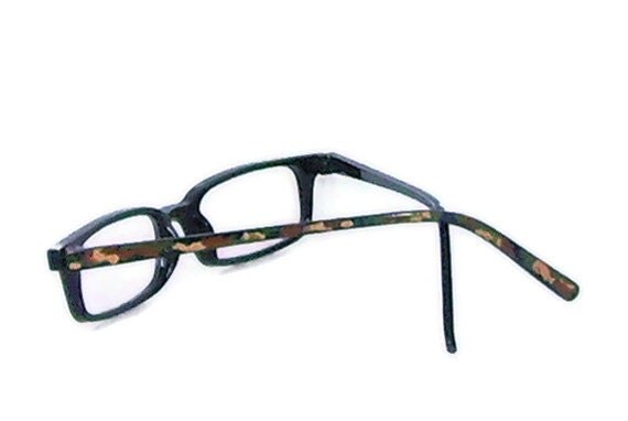 reading glasses handpainted eyeglasses in camouflage by