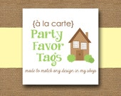 Made to Match PARTY TAGS - DIY Printable - Personalize and Coordinate with Any Design in My Shop