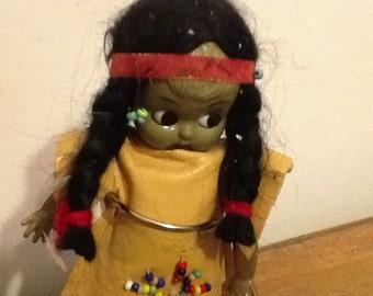 Souvenir Indian Doll