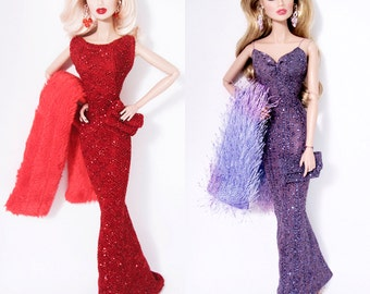 Shimmery Fashion(s)  For Fashion Royalty and Silkstone Barbie