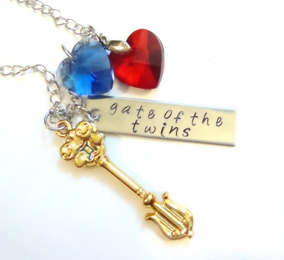 The Celestial Key to Gemini Necklace