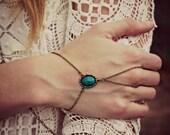 scarab slave bracelet, scarab hand chain, jade slave bracelet, slave ring, jade scarab bracelet, Egyptian jewelry