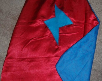 SuperHero Cape - Fully lined with Contrast Print - Boy & Girl