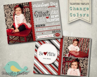 Valentines Photography Templates - Valentines Card 16