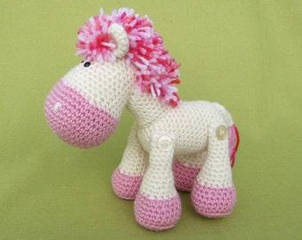 Sweet Pony Luna Crochet Pattern / PDF e-Book
