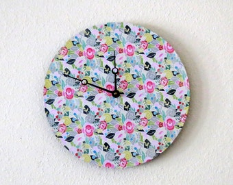 Shabby Chic Wall Clock, Home and Living, Home Decor, Decor & Housewares, Unique Mothers Day Gift