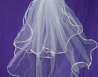SHOULDER  LENGTH  VEILS   wedding bridal