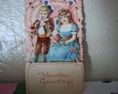1920s Valentine Pop up Card