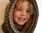 Crochet Bear Snood Hood with Ears INSTANT DOWNLOAD PDF from Thomasina Cummings Designs