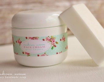 Natural Goats Milk Shea Butter and Honey face cream for all skin types and sensitive skin