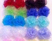 Large Pixie Puff Clip Set - many colors