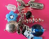 Betty Boop  Beaded keychain, purse charm.