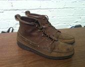 Ralph Lauren Moc Toe camper style boot size 10.5