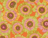 Philip Jacobs - Painted Daisy CItrus - 1/2 yard cotton quilt fabric 516