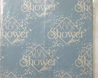 1 Sheet For Your Shower-Vintage Wedding Gift Wrap Bridal Paper