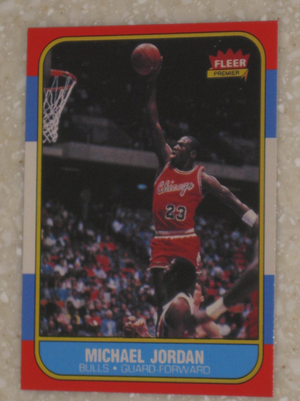 1986 Fleer Michael Jordan Rookie Card Value Trampoline Park Little