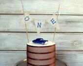 Cake Smash Cake Topper / Photography Prop Banner for Cake / Birthday Cake Banner