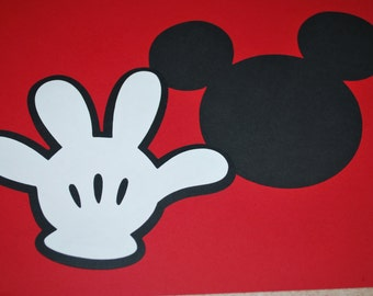 Minnie Mouse Silhouette Printable , Mickey Mouse Face , Mickey Mouse ...