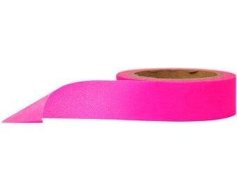 10 Wholesale Neon Pink Washi Tape