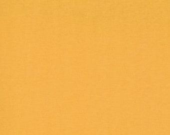 Bella Solids in Cheddar by Moda - One Yard - 9900 152 - Orange