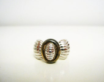 Vintage Sterling Silver Bow Ring - Size 7