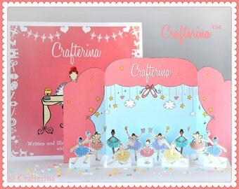 Crafterina Storybook & Printable Playset