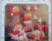 1986 Luv 'n Stuff Presents Sweet Teddies Vintage  Pattern Book