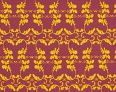 HUGE SALE- 1 Yard Fabric-Haven's Edge Climber in Lavender by Tina Givens for FreeSpirit Fabrics