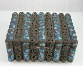Antique Chinese Enamel Gilt Bronze Box