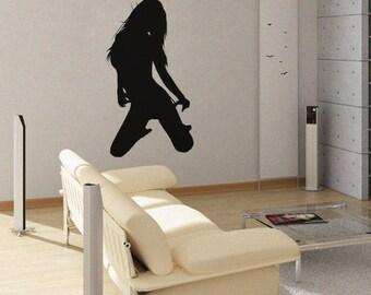 Stripper 2 - uBer Decals Wall Decal Vinyl Decor Art Sticker Removable Mural Modern A210