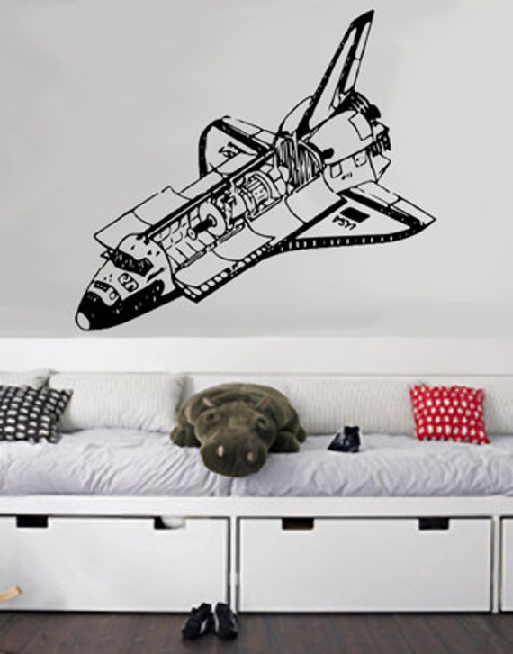 Items similar to Space Shuttle - uBer Decals Wall Decal ...