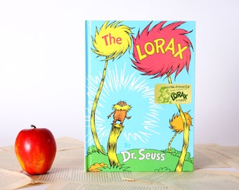 IPAD Cover- Tablet Case made from a Book- The Lorax- Dr. Suess