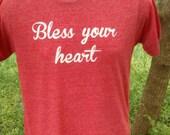 Bless your Heart shirt - Men