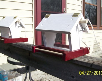 Bird Feeder (hopper type) hanging type Different colors avaiable.