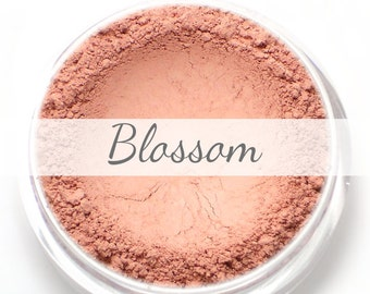"Mineral Blush Sample - ""Blossom"" (natural pink, matte finish) - Vegan"