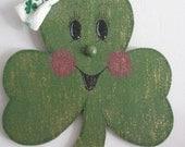 St. Patty, Green, Shamrock, Wall decor/door, bow/bowtie