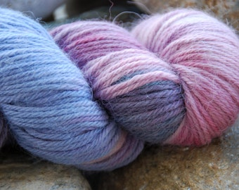 handdyed Alpacayarn - 100g - sports/DK weight - colour wild1