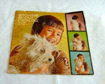SALE!!  Price reduced!!!  1962-63 Brownie Scout Catalog