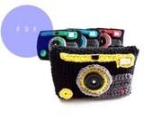 Crochet PATTERN - Camera Case