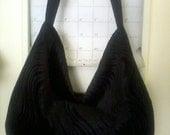 Black Velvet Hobo Bag Crossbody