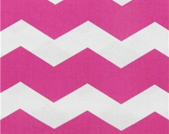hot pink  chevron print