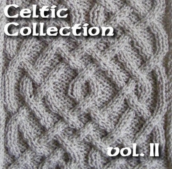 Celtic Knot Knitting Pattern Book : Celtic Knots for knitting vol. 2