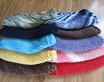 Knit Dishcloth 5-Pack