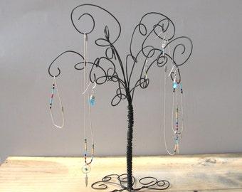 Jewelry Holder Earring Organizer Jewelry Wire Jewelry Organizer, Tree Stand , Earring, Rings,Bracelets, Organizer, Display